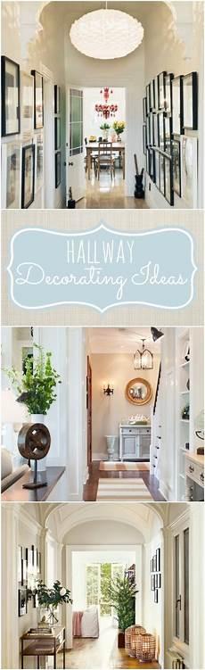 Hallway Home Decor Ideas by Hallway Decorating Ideas