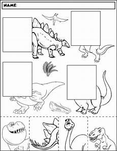 dinosaurs preschool worksheets 15333 dinosaur color and match 2 dinosaurios preescolar proyectos de dinosaurios y sopa de