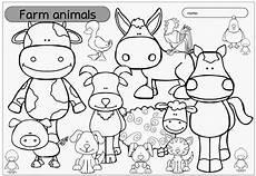 Ausmalbilder Englisch Grundschule Ideenreise Ausmalbild Quot Farm Animals Quot