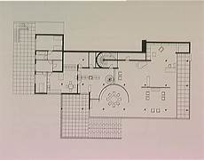 tugendhat house plan plan drawing of the tugendhat house mies van der rohe