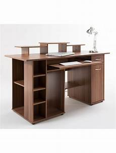 san diego home office furniture walnut home office desk san diego aw12004wal by alphason