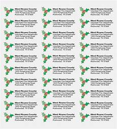 why free printable holiday return address label information