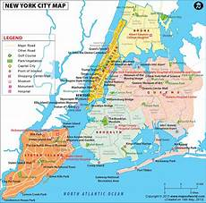 Stadtplan New York - nyc map map of new york city information and facts of