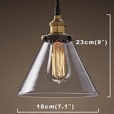 luminaire suspendu style industriel buyee suspension r 233 tro en verre et m 233 tal style industriel