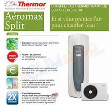 chauffe eau thermor 300 litres chauffe eau thermodynamique thermor a 233 romax split 200 et