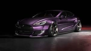 It Cars — Tesla Model S Widebody  CGI Mock Up Series