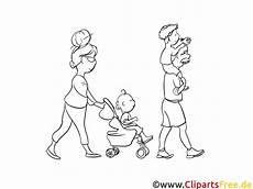 familie geht spazieren malvorlagen und ausmalbilder