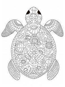 Afrikanische Muster Malvorlagen Zum Ausdrucken Mandala Schildkroete 1 225x300 Jpg 225 215 300