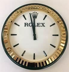 rolex wall clock wimbledon a genuine rolex wall clock as