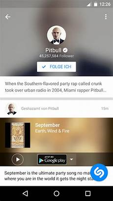 shazam musik android apps auf play