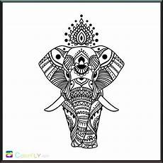 Malvorlagen Elefant Neuwied Elefant Mandala Mandala Elefant Zeichnung Feder
