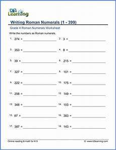 grade 4 numeral worksheets 1 399 k5 learning