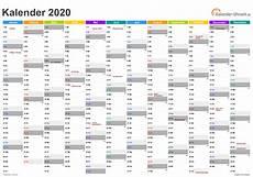 terpopuler 30 kalender 2020 excell
