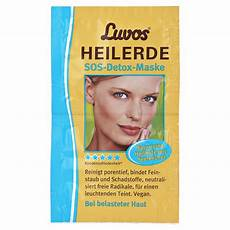 luvos heilerde sos detox maske 2x7 5 milliliter