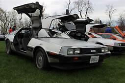 Back To The Future DeLorean Cars Go Into
