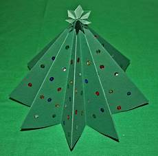 crafts folded paper tree pictures