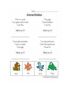 science riddle worksheets 12380 animal riddles worksheet animal riddles teaching riddles