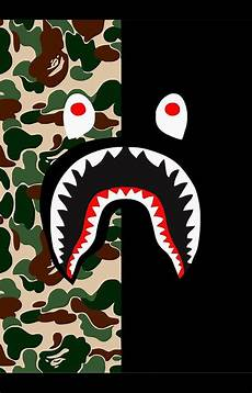 Bape Wallpaper Iphone 7 Plus bape shark pattern in 2019 bape wallpapers bape