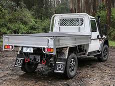 mercedes launches work focused g wagon ute news