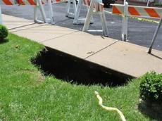 island what causes sinkholes what are they can