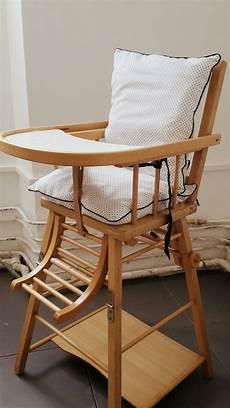 chaise haute combelle retap 233 e et coussin diy pour moins de