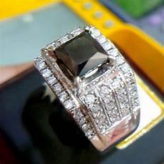 jual beli cincin pria berlian hitam black diamond 0276 com