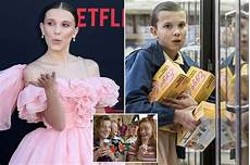 things millie bobby brown admits