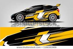 Car Decal Wrap Design Vector Graphic Wektor Stockowy