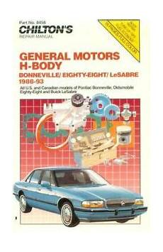 chilton car manuals free download 1993 oldsmobile 88 electronic valve timing gm h body bonneville oldsmobile and lesabre 1988 93 by chilton ebay