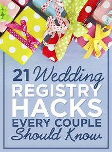 Tips On Registering For Wedding Gifts