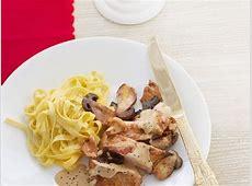 veal with mushroom sauce_image