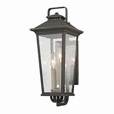 fifth and main parsons field aged pewter 7 inch two light outdoor wall sconce wl 2111 bellacor