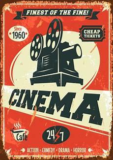 Cartaz Vintage Decora 231 227 O Cinema Retro Oldschool Poster A3