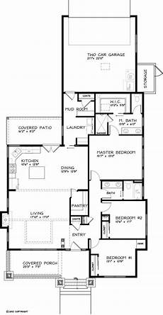 single floor 3 bhk house plans craftsman style house plan 3 beds 2 baths 1749 sq ft