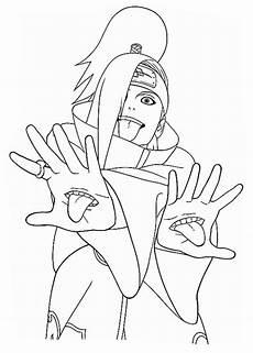 ausmalbilder sasuke uchiha 1ausmalbilder