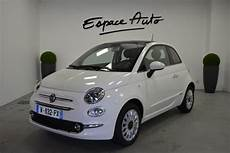 Voiture Occasion Fiat 500 1 2 8v 69ch Lounge 2019 Essence