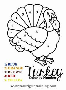 T Is For Thanksgiving Coloring Pages Get This Turkey Coloring Pages Color By Number 96228