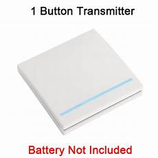 Bakeey 433mhz Wall Panel Wireless Remote by Bakeey 433mhz Wall Panel Wireless Remote Transmitter 1 2 3