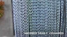 hacer cortinas con material reciclado cortina de anillas youtube