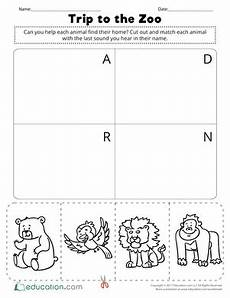 trip to the zoo worksheet education com