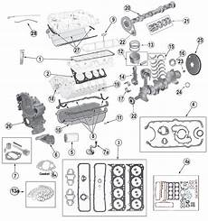 Amc V 8 5 0l 304 And 5 9l 360 Engine Parts For Jeep Cj S