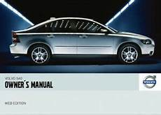 how to download repair manuals 2004 volvo s40 lane departure warning volvo s40 complete owners manual pdf ebay