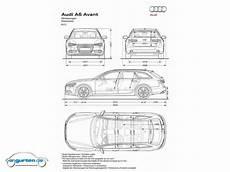 Audi A6 Avant Kofferraum Maße - audi a6 avant c7 fotos bilder
