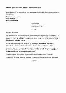 contester une infraction modele lettre contestation pv