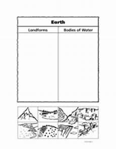 earth landform or of water teachervision