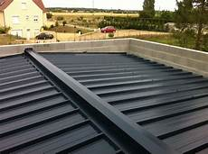 toit plat en tole toiture bac acier recherche garage toit plat