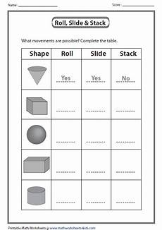 solid shapes worksheets for grade 1 1267 help your child practice his spatial perception with this printable worksheet which asks him to