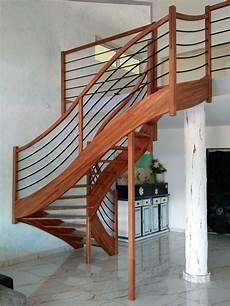 escalier 2 quart tournant par mdsvdm sur l air du bois