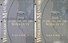 how to download repair manuals 2010 ford f450 navigation system 2010 ford f super duty f250 f350 f450 f550 repair shop manual set original