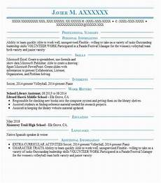 resume objective exles library assistant school